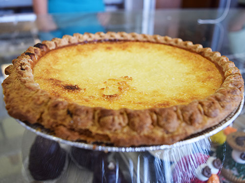 Jacquettes Bakery - Coconut Custard Pie